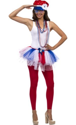 Adult Retro Patriotic Accessory Kit