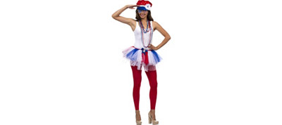 Womens Patriotic Deluxe Accessory Kit