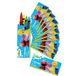 Sesame Street Crayon Boxes 12ct