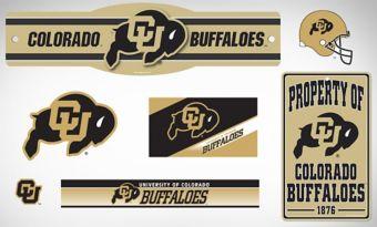 Colorado Buffaloes Dorm Room Kit