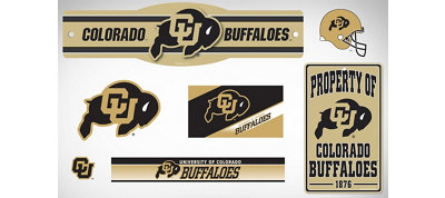 Colorado Buffaloes Dorm Room Kit
