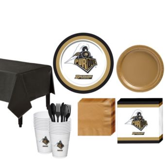Purdue Boilermakers Basic Party Kit for 16 Guests