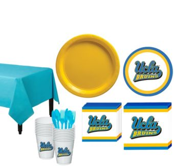 UCLA Bruins Basic Party Kit for 16 Guests