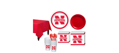 Nebraska Cornhuskers Basic Fan Kit