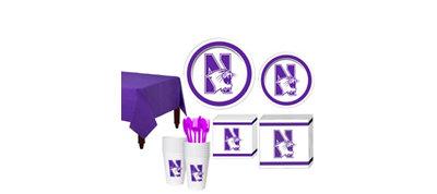 Northwestern Wildcats Basic Fan Kit