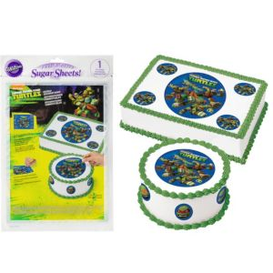 Wilton Teenage Mutant Ninja Turtles Sugar Sheet