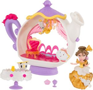 Enchanted Dining Room Belle Playset 12pc
