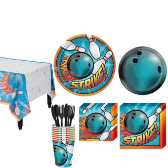 Bowling Basic Party Kit for 8 Guests