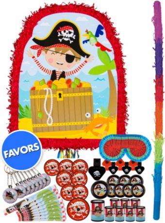 Little Pirate Pinata Kit with Favors