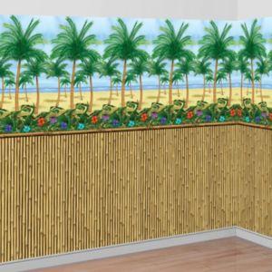 Bamboo Beach Scene Setter Kit