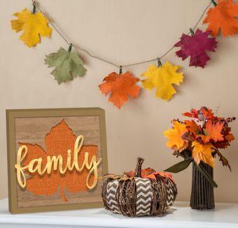 Rustic Fall Decorating Kit