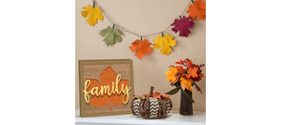 Rustic Fall Decorating Kit