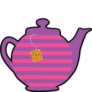 Mad Tea Party Teapot Cutout