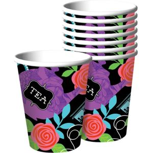 Mad Tea Party Cups 8ct