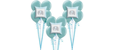 Blue Baby Elephant Balloon Kit 18ct