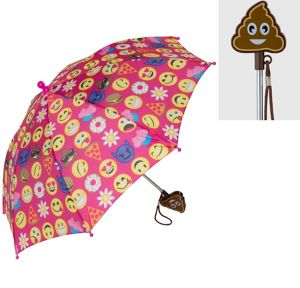 Child Smiley Umbrella