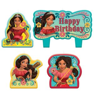 Elena of Avalor Birthday Candles 4ct