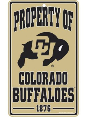 Property of Colorado Buffaloes Sign