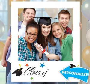 Giant Graduation Photo Frame