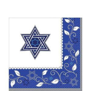 Joyous Holiday Passover Lunch Napkins 16ct