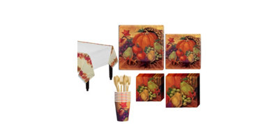 Harvest Still Life Fall Tableware Kit for 8 Guests