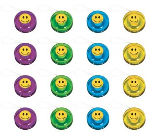 Smiley Yo-Yos 16ct