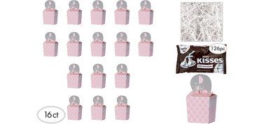 Pink Elephant Premium Baby Shower Favor Kit