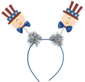 Glitter Uncle Sam Head Bopper