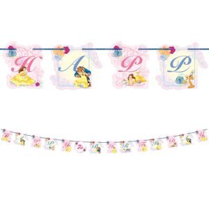 Beauty and the Beast Birthday Banner Kit