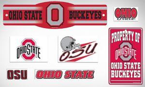 Ohio State Buckeyes Dorm Room Kit