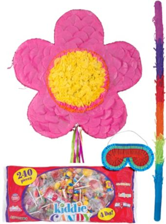 Pink Flower Pinata Kit