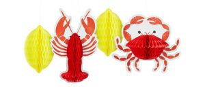 Seafood Fest Honeycomb Balls 4ct