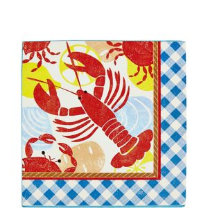 Seafood Fest Lunch Napkins 16ct