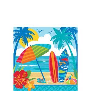Sun & Surf Beach Beverage Napkins 36ct