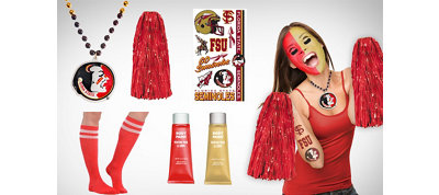 Florida State Seminoles Fan Gear Kit