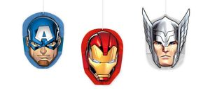 Avengers Honeycomb Balls 3ct