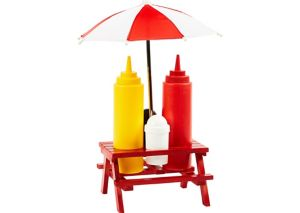 Picnic Table Condiment Set 6pc