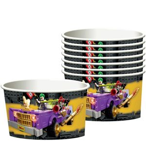 Lego Batman Movie Treat Cups 8ct