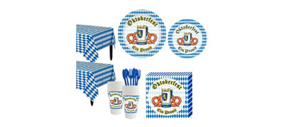Oktoberfest Tableware Kit for 32