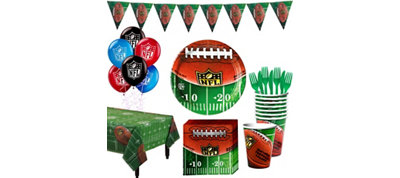 NFL Drive Super Party Kit for 18 Guests