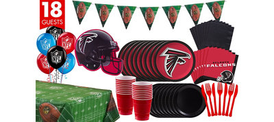 Atlanta Falcons Deluxe Party Kit for 18 Guests