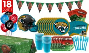 Jacksonville Jaguars Deluxe Party Kit for 18 Guests