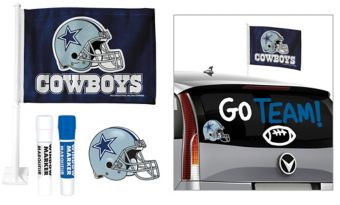 Dallas Cowboys Car Decorating Tailgate Kit