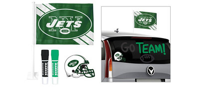 New York Jets Car Decorating Tailgate Kit