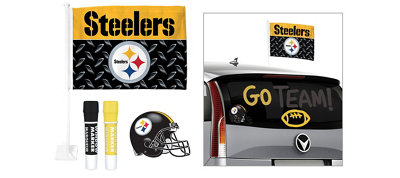 Pittsburgh Steelers Car Decorating Tailgate Kit