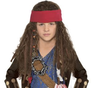 Child Jack Sparrow Wig
