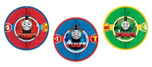 Thomas the Tank Engine Honeycomb Balls 3ct