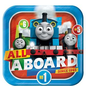 Thomas the Tank Engine Lunch Plates 8ct