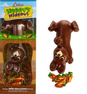 Milk Chocolate Easter Bunny with Milk Chocolate Carrots