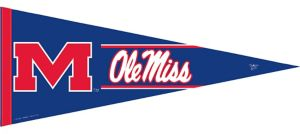 Ole Miss Rebels Pennant Flag